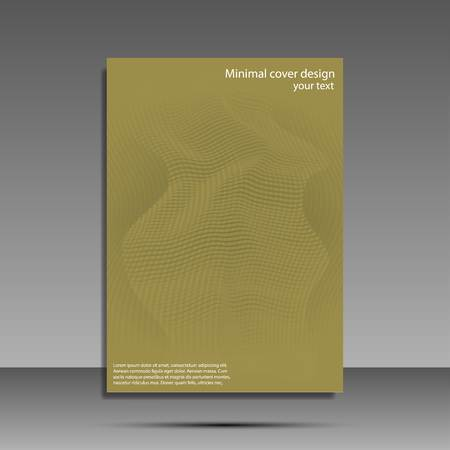 Minimal covers set. Future geometric design. Abstract 3d meshes. Eps10 vector Ilustrace