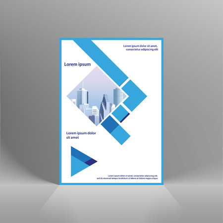 Flyer cover business brochure vector design, Leaflet advertising abstract background, Modern poster magazine layout template, Annual report for presentation