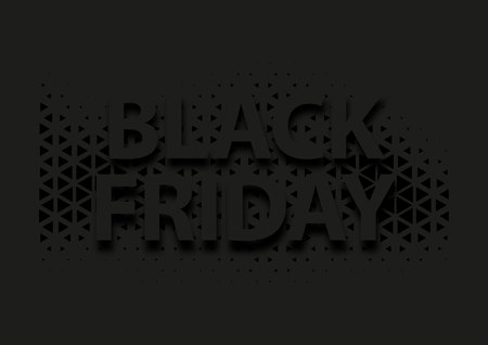 Abstract vector black friday sale layout background. For art template design,brochure, banner, idea, cover, booklet, flyer