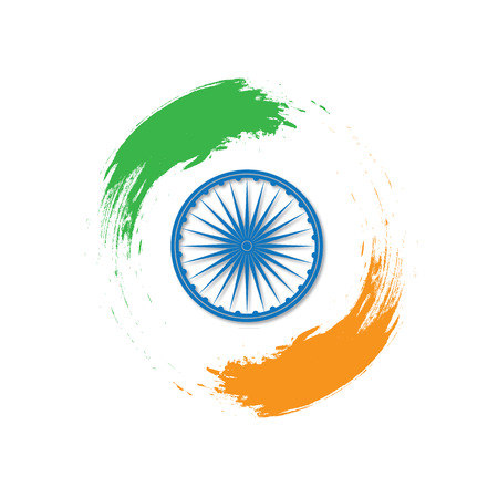 Independence Day of India. 15 th of August. Stock Photo