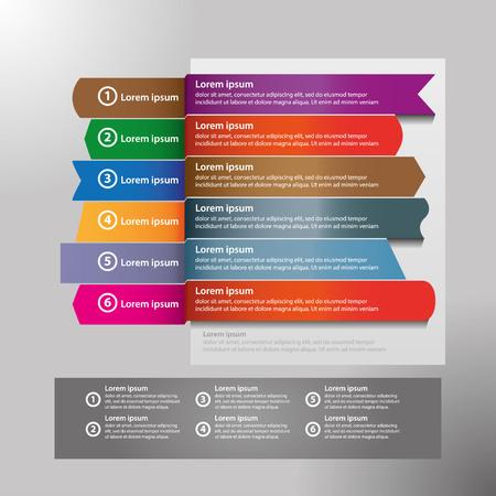 El vector de diseño infográfico y los iconos de marketing se pueden utilizar para el diseño del flujo de trabajo, diagrama, informe anual, diseño web. Concepto de negocio con 4 opciones, pasos o procesos. Ilustración de vector