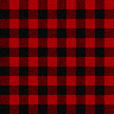 Lumberjack plaid seamless pattern for your design Çizim