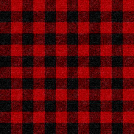 Lumberjack plaid seamless pattern for your design Vettoriali