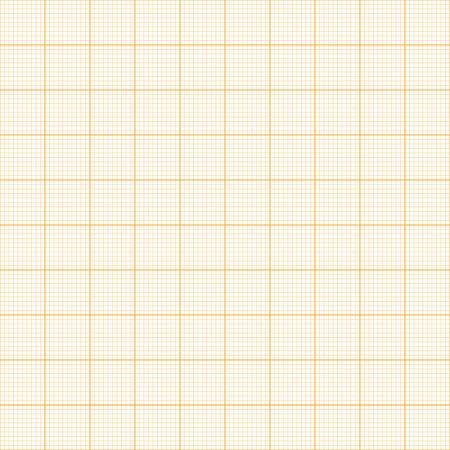 Graph paper. Seamless vector background (orange). Stock Vector - 28259311