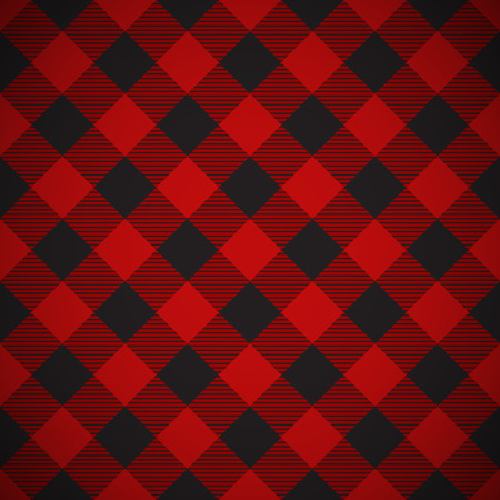 Tilted seamless lumberjack plaid background