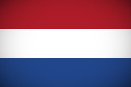 proportions: National flag of Netherlands with correct proportions and color scheme