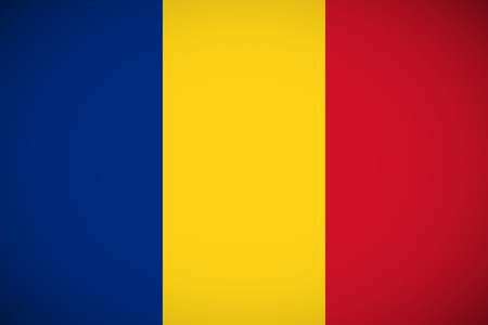 proportions: National flag of Romania with correct proportions and color scheme