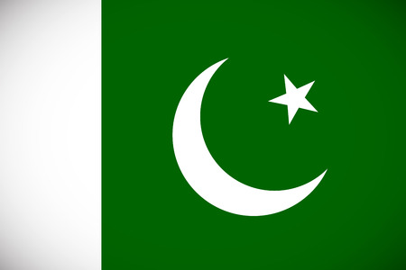 National flag of Pakistan with correct proportions and color scheme Stock Vector - 29823132