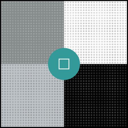 Monochrome geometric backgrounds collection. Squares. Illustration