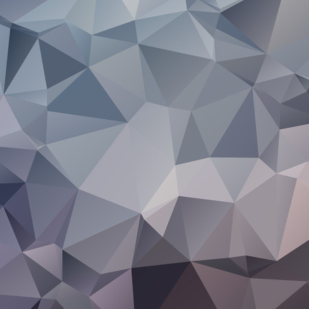 cold colors: Stylish abstract polygonal background with triangles. Cold colors.
