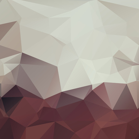 colores calidos: Stylish polygonal geometric background with triangles. Neutral warm colors.