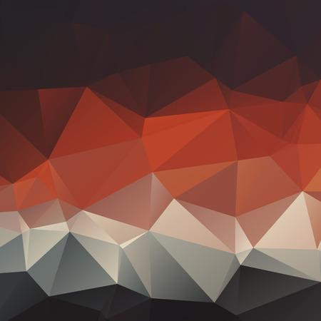 Estilo poligonal fondo abstracto geom�trico oscuro con tri�ngulos Vectores