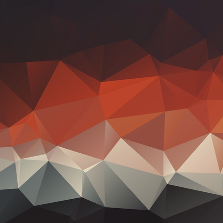 Stylish dark polygonal geometric abstract background with triangles