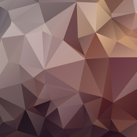 Stylish polygonal abstract background with triangles. Neutral colors.
