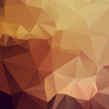 Stylish abstract polygonal geometric background with triangles. Warm colors.