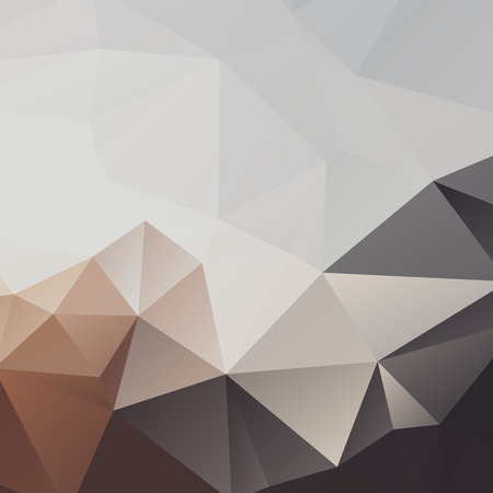 Abstract polygonal geometric background with triangles. Neutral colors.