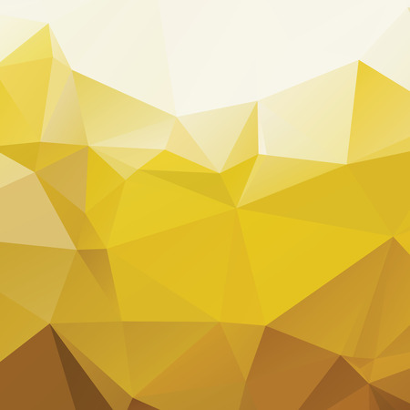 radiant: Shiny radiant yellow polygonal abstract background