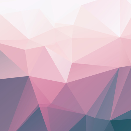 Stylish light pink triangular abstract polygonal background