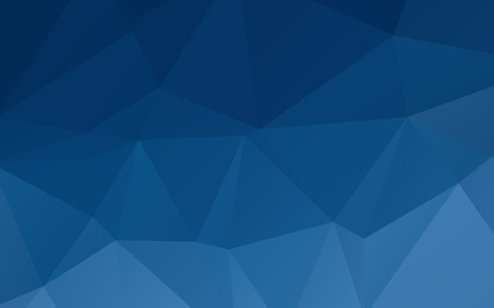 Deep blue abstract triangular vector abstract wallpaper background