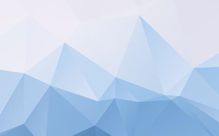 Stijlvolle lichtblauwe vector veelhoekig abstract wallpaper