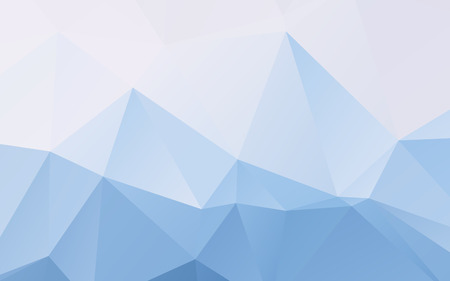 Stylish light blue vector polygonal abstract wallpaper