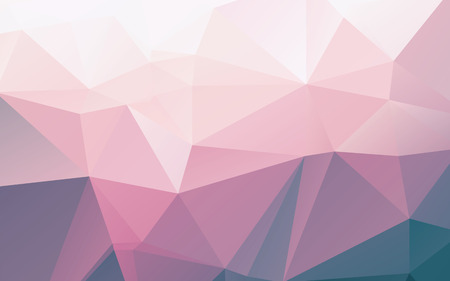 Shiny light pink purple abstract mosaic polygonal vector background Vettoriali