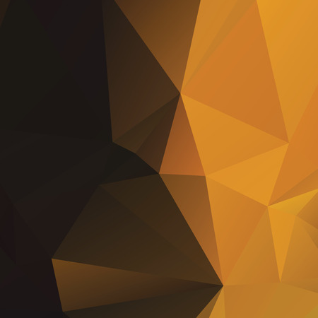 amber: Warm amber colored polygonal abstract background