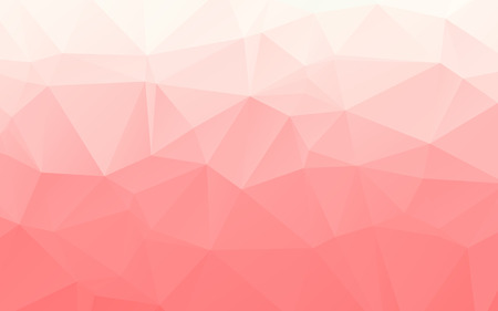 abstract wallpaper: Gradient light red polygonal abstract vector wallpaper Illustration