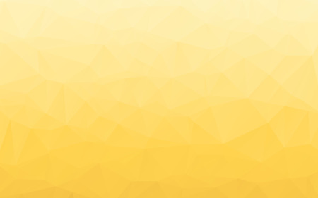 Stylish gradient glowing yellow polygonal abstract wallpaper background