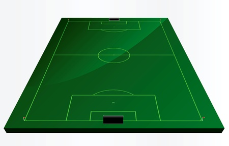 EPS Vector 10 - soccer field or football field