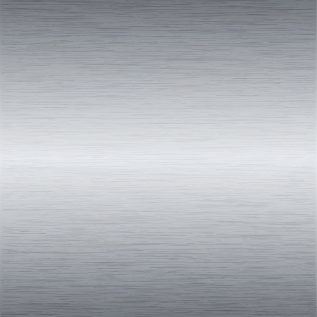 Metal background or texture of brushed steel plate Vector