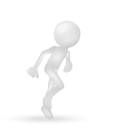 Illustration of Runner   Running man Stock Vector - 19505908