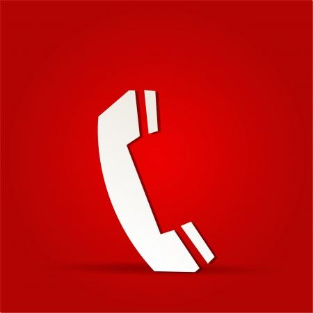 EPS Vector 10 - call phone button web icon design
