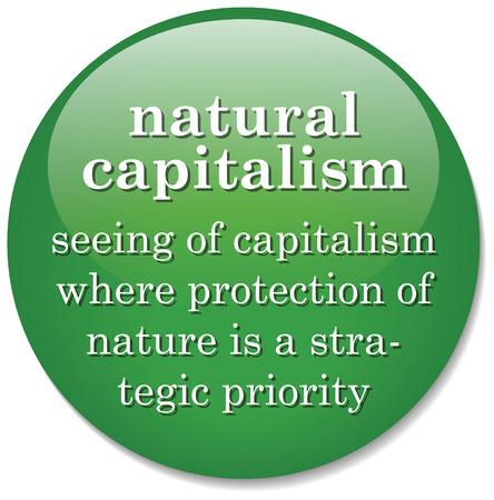 capitalismo: Ilustraci�n de la definici�n de diccionario de la palabra Capitalismo Natural Foto de archivo