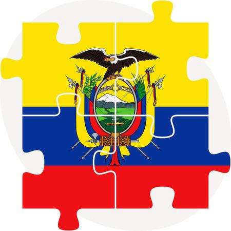 Ecuador Vector Ecuador Flag Vector