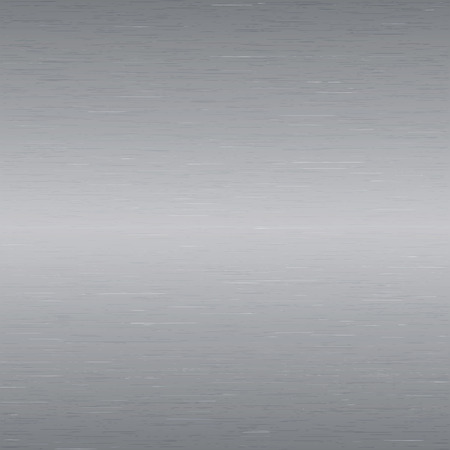 Vector image - Metal background, texture of brushed steel plate