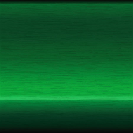 background or texture of brushed green surface Stock Illustratie