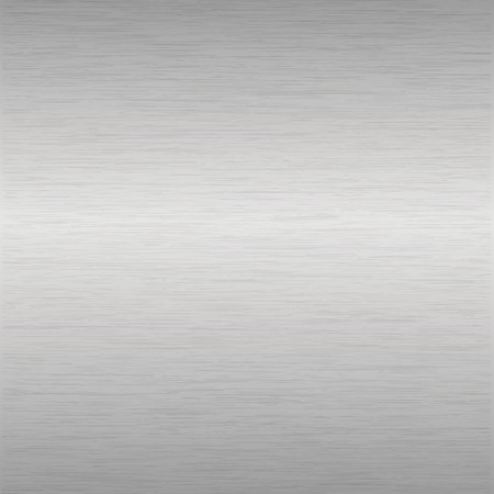 aluminium texture: background or texture of brushed aluminium surface Illustration