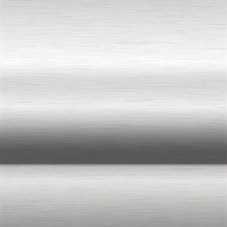 aluminium: background or texture of brushed aluminium surface Illustration