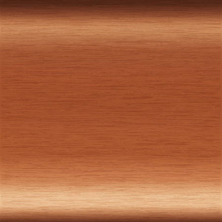 background or texture of brushed copper surface Illustration