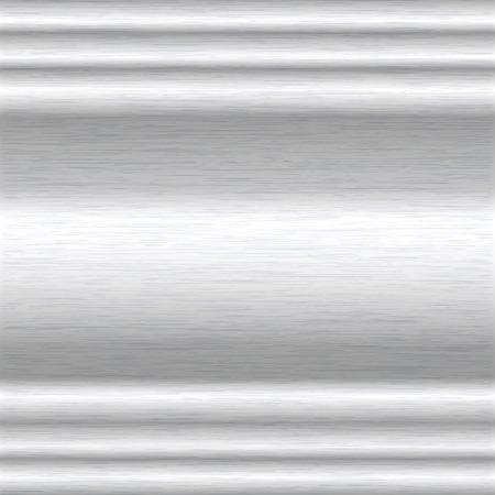hydroxide: background or texture of brushed aluminium surface Illustration