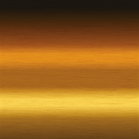 brushed gold: background or texture of brushed gold surface