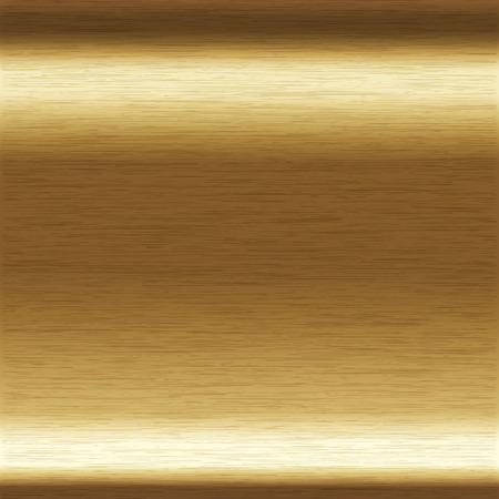 background or texture of brushed copper surface Stock Illustratie