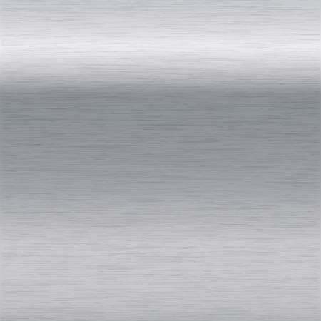 chromium sheet: background or texture of brushed chrome surface Illustration