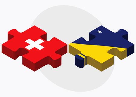 tokelau: United Arab Emirates and Tokelau Flags in puzzle isolated on white background