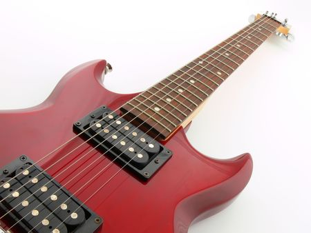 parallelism: Simply picture of an electric guitar