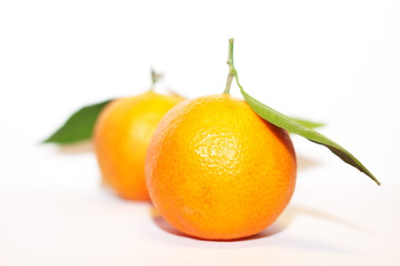 Clementines can be separated into 7 to 14 segments. They tend to be very easy to peel, like a tangerine photo