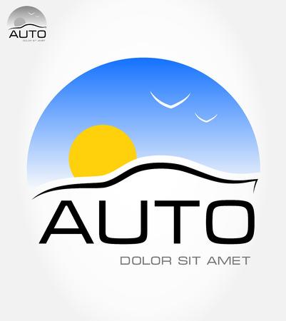 Auto symbol  Vector illustration  Vector