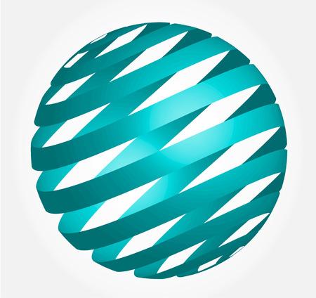 glob: Abstract globe 3d