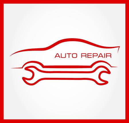 auto repair: Auto repair symbol